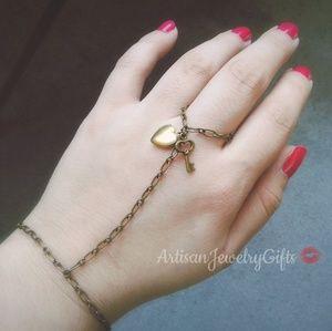 Key To My Heart Slave Bracelet Hand Chain